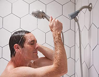 Moen 26100 Engage Magnetix 3.5-Inch Six-Function Handheld Showerhead with Magnetic Docking System, Chrome