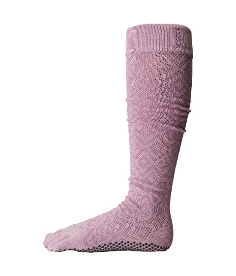 Toesox Scrunch w High Diamond Toe Freesia Knee Grip Full rEXrwxz