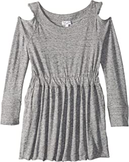 Cold Shoulder Dress (Little Kids)