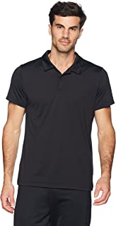 Peak Velocity Men's Aeros Performance Short Sleeve Quick-Dry Athletic-Fit Polo