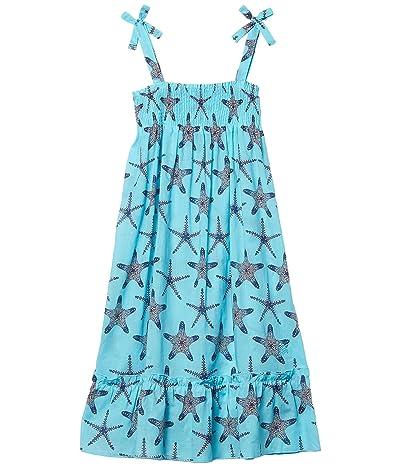 Vilebrequin Kids Gloss Starfish Cover-Up Dress (Toddler/Little Kids/Big Kids) (Blue) Girl