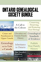 Ontario Genealogical Society 12-Book Bundle: Conserving, Preserving, and Restoring Your Heritage / Genealogical Standards of Evidence / and 10 more (Genealogist's Reference Shelf)