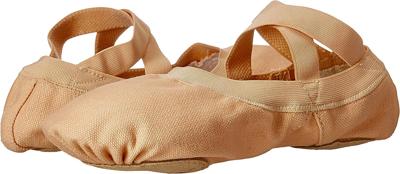Bloch Women's Pro Elastic, Light Sand, 8.5 Medium