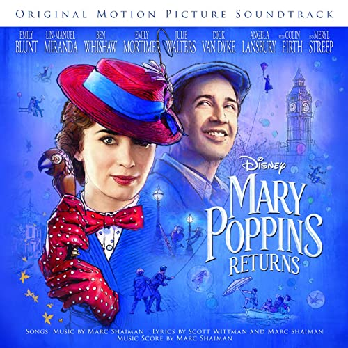 mary poppins returns songbook music from the motion picture soundtrack