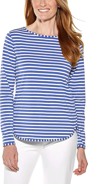 Coolibar UPF 50+ Women's Heyday Side Split Shirt  Sun Predective