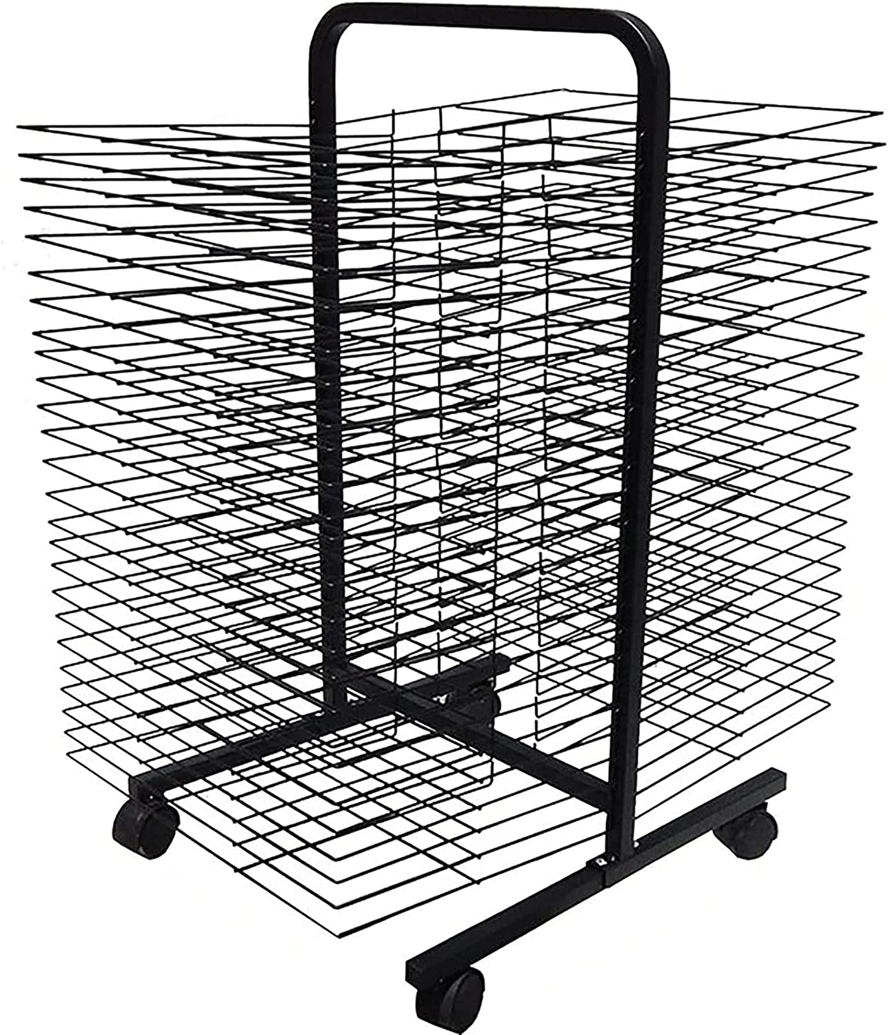 Luxury YSCMX Drying Rack OFFicial shop Back-to-Back R Art Double-Sided Mobile