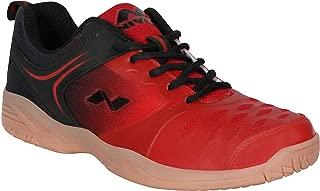 Nivia BD-190RD Mesh HY-Court Badminton Shoes for Men
