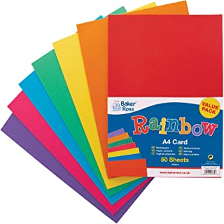 A4 220 gsm Card - Assorted