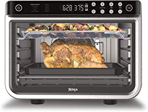 Ninja DT201 Foodi 10-in-1 XL Pro Air Fry Digital Countertop Convection Toaster Oven with Dehydrate and Reheat, 1800 Watts,...
