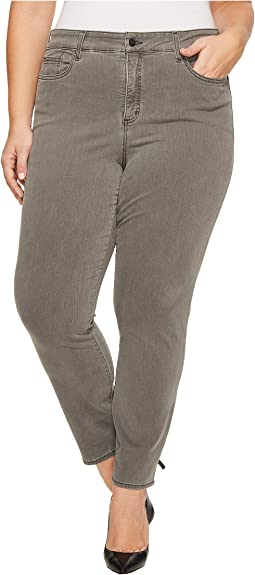Plus Size Alina Legging Jeans in Vintage Pewter