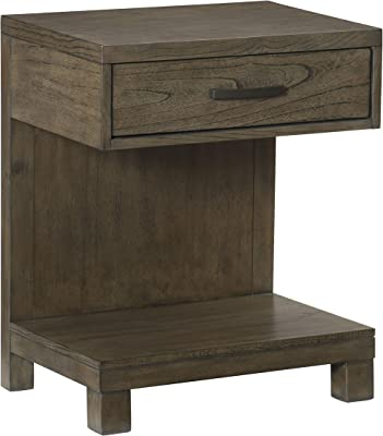 Lexicon Division Nightstand, Brownish Grey