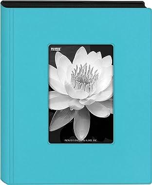 "Pioneer Photo Albums KZ-46 Aqua Blue Mini Frame Cover Photo Album, 4"" x 6"""
