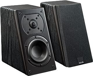 SVS Prime Elevation Speaker (Pair) - Premium Black Ash