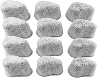 NRP F47200 Compatible KRUPS Duo Filters Charcoal Water Filtration Cartridges Replace for Krups Coffeemaker FMF/FME/629/180 SAVOY & More 12-pack
