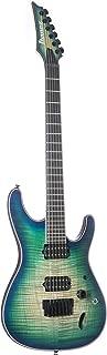 Ibanez S Series Iron Label SIX6FDFM - Blue Space Burst