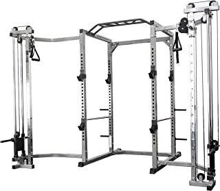 Valor Fitness BD-41 Heavy Duty Power Cage with Multi-Grip Chin-Up Bar and Bundle Options for a Complete Home Gym