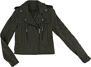 19f1415b643 Amazon.com  XXS - Leather   Faux Leather   Coats