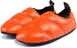 4cb2e1c20f0 KingCamp Unisex Warm Camping Slippers Soft Winter Slippers with Non Slip  Rubber Sole   Carry Bag