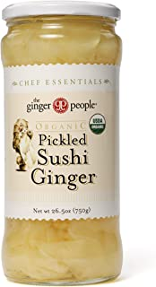 the Ginger People Organic Pickled Sushi Ginger, 26.5 Ounce (Pack of 6)
