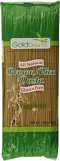 Goldbaum?s Pasta, Brown Rice Spaghetti, 16-Ounce (Pack of 6)