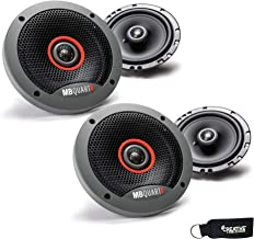 $54 » MB Quart - Two Pairs of Formula 6.5 Inch Slim Mount Coaxial Car Speakers - FKB116s