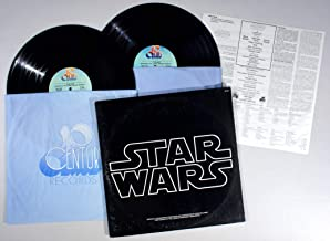 Star Wars - Original Soundtrack Composed and Conducted by John Williams / London Symphony Orchestra (2 LP Set w /Poster)