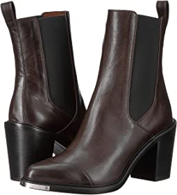 BELSTAFF - Aviland Calf Leather Ankle Boots