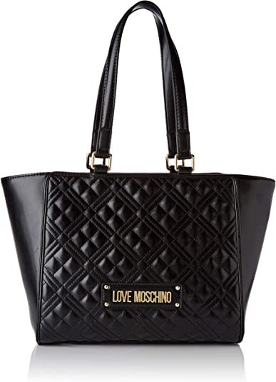 Love Moschino Jc4200pp0a, Bolso tipo tote para Mujer, 40x20x12 Centimeters (W x H x L)