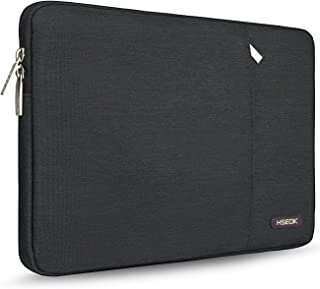 HSEOK 15.6-Inch Laptop Case Sleeve, Environmental-Friendly Spill-Resistant Case for 15.4-Inch MacBook Pro 2012 A1286, MacBook Pro Retina 2012-2015 A1398 and Most 15.6-Inch Laptop, Black