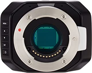 Blackmagic Design Micro Studio Camera 4K - Videocámara Tarjeta de Memoria GB