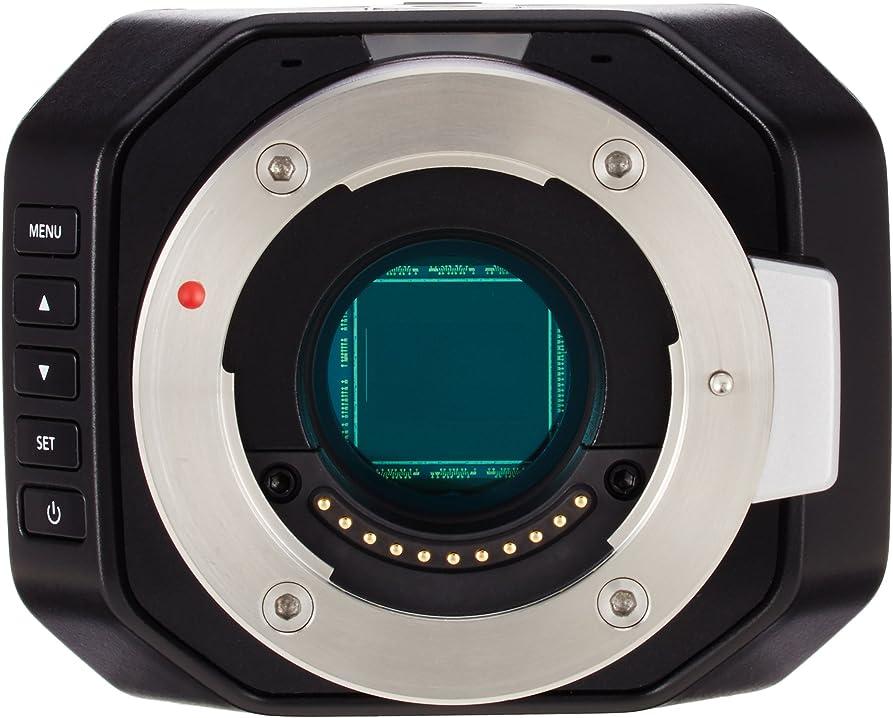 Micro studio camera blackmagic design  4 k videocamere classico 3239