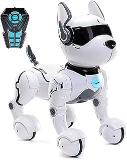 ربات از راه دور اسباب بازی سگ ، ربات برای کودکان ، اسباب بازی ربات سگ برای کودکان 2،3،4،5،6،7،8،9،10 ساله و بالاتر ، هوشمند