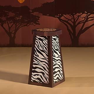 3 ft. Wild Jungle Safari Dreams Table Standup Photo Booth Prop Background Backdrop Party Decoration Decor Scene Setter Cardboard Cutout