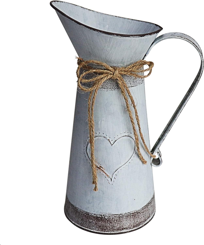 MISIXILE Ranking TOP20 Rustic Low price Metal Farmhouse Pitcher Vase Primitive Jug Milk