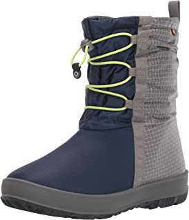 BOGS Kids' Snownights Insulated Winter Waterproof Boys and Girls Snow Boot