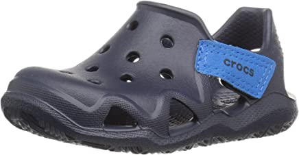 Crocs Kids' Boys and Girls Swiftwater Wave Water Sandal