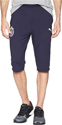 Chivas 3/4 Training Zip Pants with Two Side Pockets