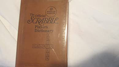 The Official Scrabble Player's Dictionary 4th Edition,