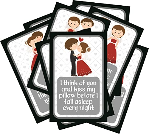 SYGA Set of 8 Exciting Lives Love Story Romantic Love Cards - Birthday, Anniversary Gift, pre Wedding Photo Shoot, Post Wedding Photoshoot product image