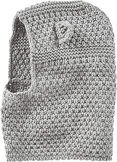 ad69ebeb VERTBAUDET Pasamontañas para bebé de punto tricot fantasía Gris claro  jaspeado 12/18M-74