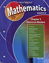 Maths Application & Concepts Course 2 Chapter 2 Resource Masters 1 (Algebra Readiness)