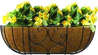 Scroll Window & Deck Planter - 30 in