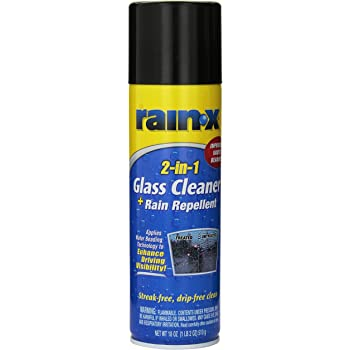 Rain-X 2-in-1 Foaming Glass Cleaner with Rain Repellant (510 g)