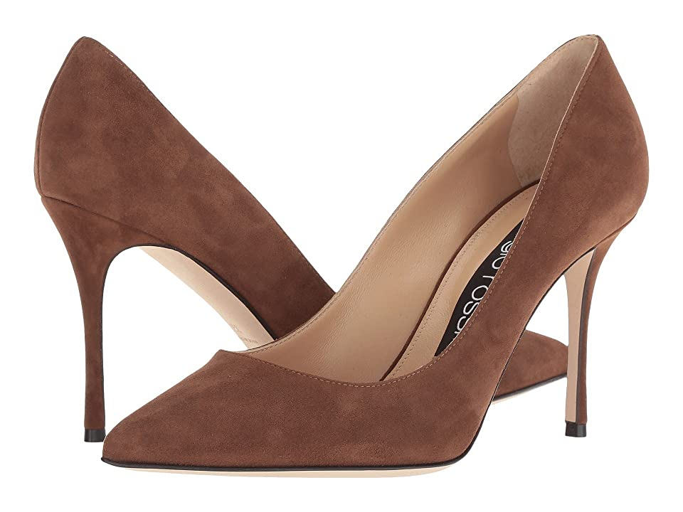 Sergio Rossi Godiva (Toffee Suede) High Heels