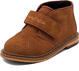 Toddler//Little K. Nautica Kids Chukka Boot Boys Adjustable Strap Dress Bootie