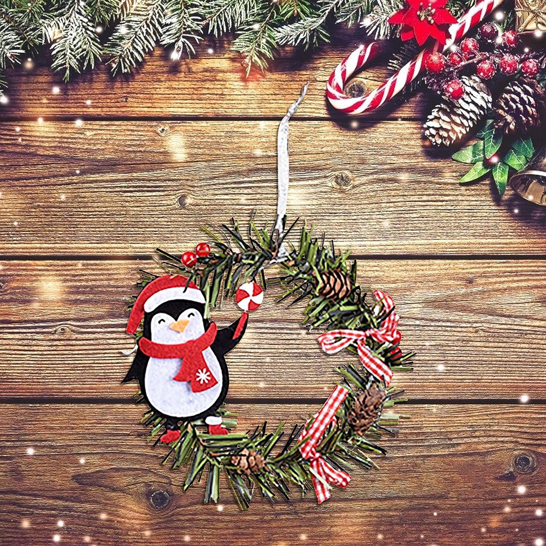 Shavanpark Mini Christmas Wreath Hanging Decoration Industry No. 1 Pendant Cheap sale for