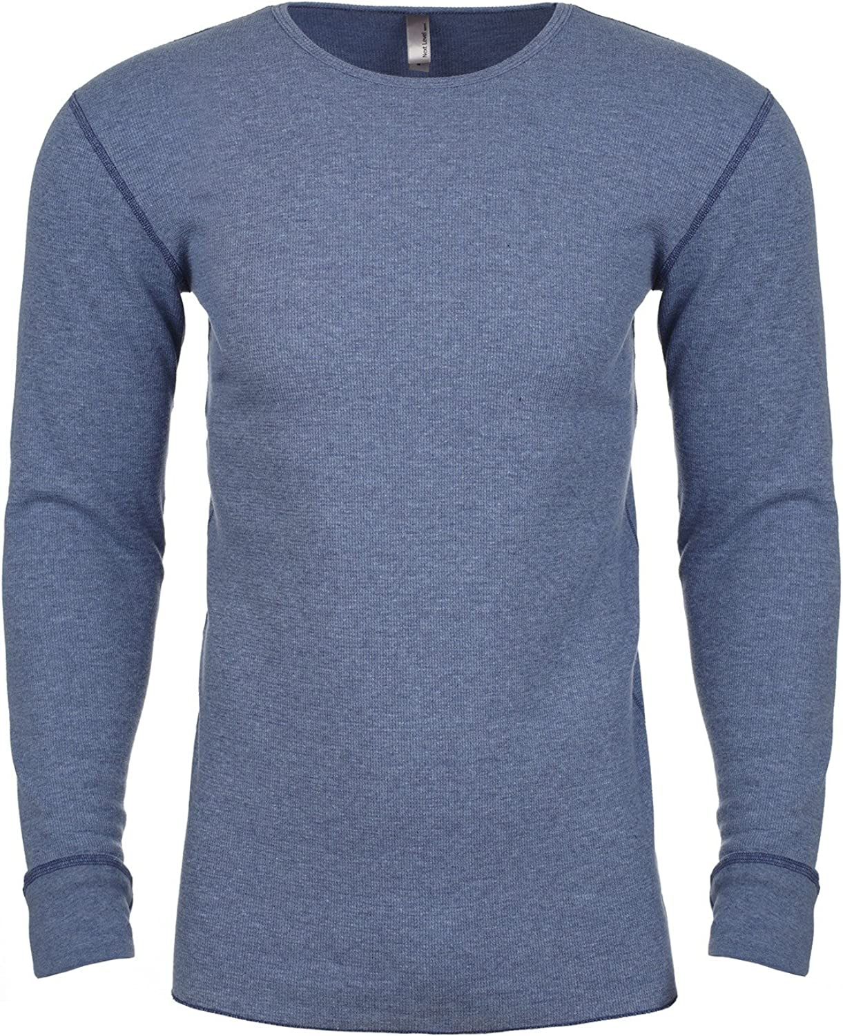 Product of Brand Next Level Adult Long-Sleeve Thermal - Heather Blue - 2XL - (Instant Savings of 5% & More)