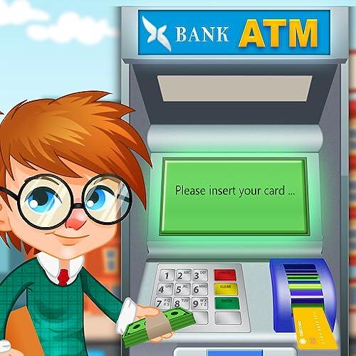 ATM Machine Simulator - Shopping Game