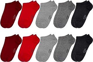 OCERA 10 pares de calcetines deportivos para niños (unisex) en diferentes colores
