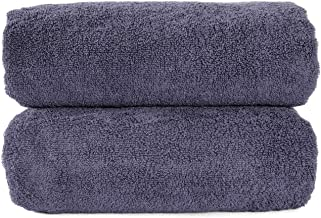 Tonten Premium Turkish Bath Towels, Set of 2, 100% Pure Ring-Spun Cotton Towel, Luxury Hotel & Spa Quality Towels, Super S...